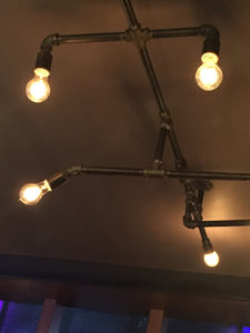 Pipe light fixtures