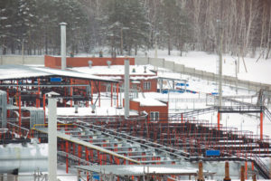 Oil piping systems in winter
