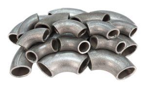 Galvanized pipes elbow