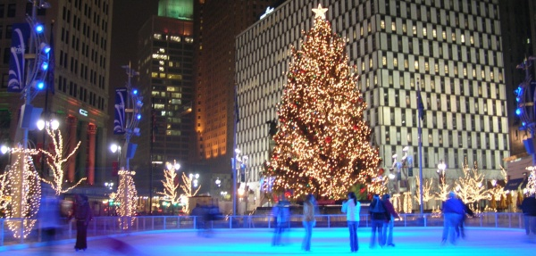 Detroit Light Shows And Other Activities Available This Winter