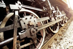 Steel Rails produced for railroads