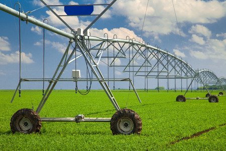 Mechanical tubing used in modern irrigation systems